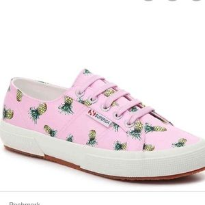 BNWT Superga Pink Pineapple Sneakers